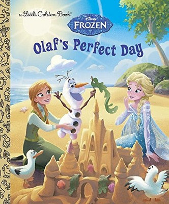Olaf's Perfect Day ( Little Golden Books: Disney: Frozen) (Hardcover) by Jessica Julius