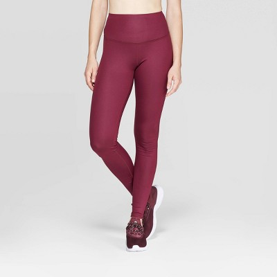 Women's Everyday High-Waisted Shine Leggings 28.5  - C9 Champion® Berry S