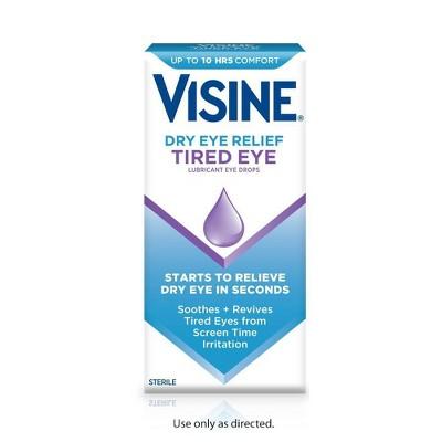 Visine Dryeye Relief Tired Eye Drops - 0.50 fl oz