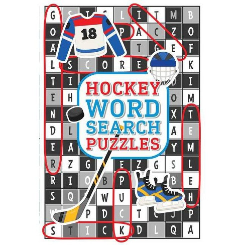 Hockey Word Search Puzzles - by  Harpercollins Publishers Canada (Paperback) - image 1 of 1