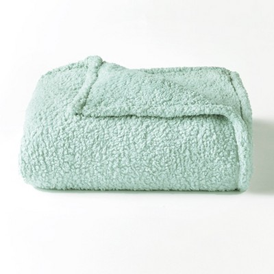 Lakeside Cozy Warm All Over Sherpa Fleece Bed Throw Blanket
