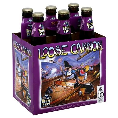 Heavy Seas Loose Cannon Hop Ale Beer - 6pk/12 fl oz Bottles - image 1 of 1