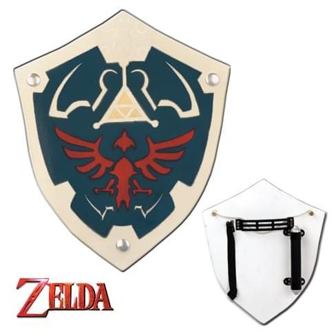 Swordsswords Com Legend Of Zelda Hylian Wooden Replica Shield Target