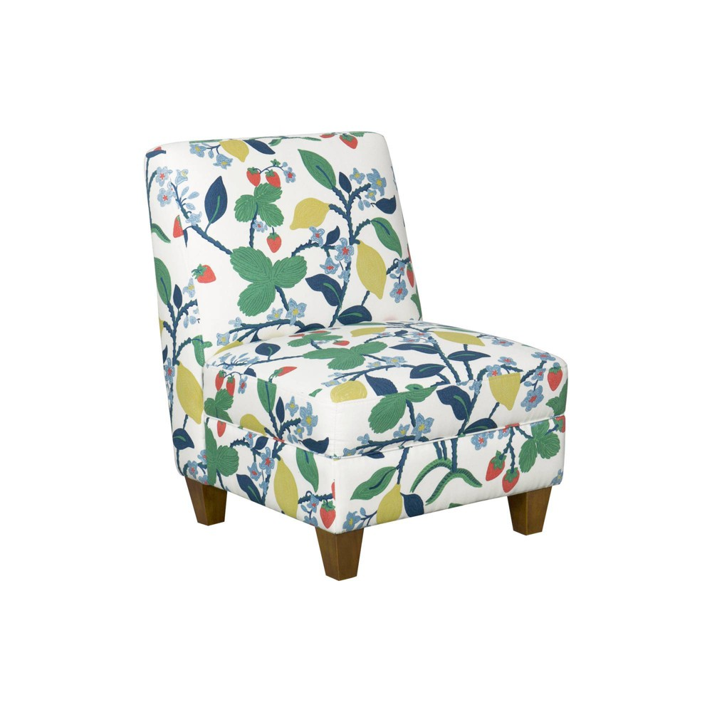 Slipper Chair Floral - HomePop was $319.99 now $239.99 (25.0% off)