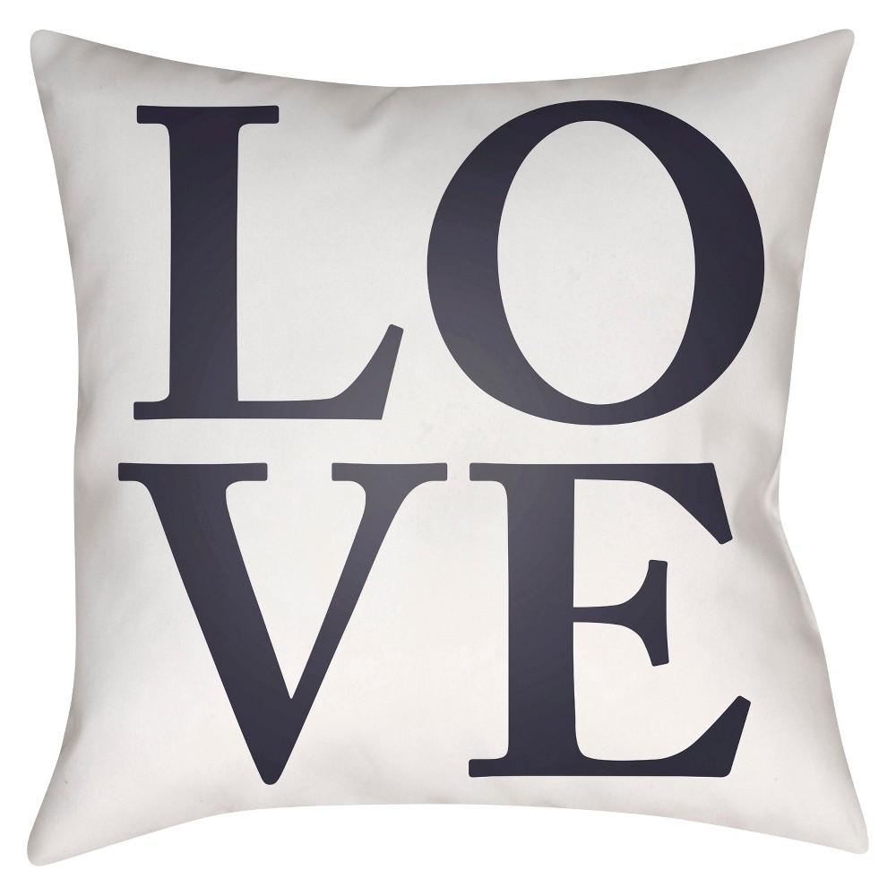 Pink Love Throw Pillow 18