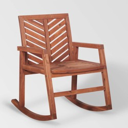 Miraculous Gabriela Outdoor Rocking Chair Abbyson Living Target Uwap Interior Chair Design Uwaporg