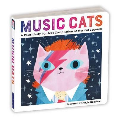 Music Cats Board Book - by  Mudpuppy