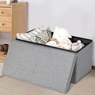 Padded Storage Bench Bedroom Target