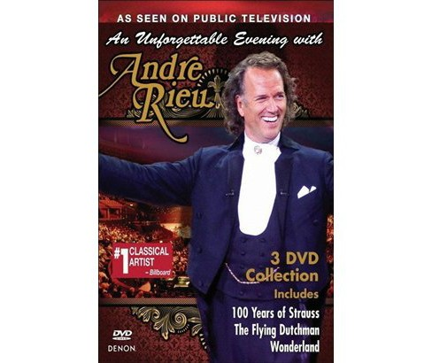 Unforgettable evening with andre rieu (DVD) - image 1 of 1