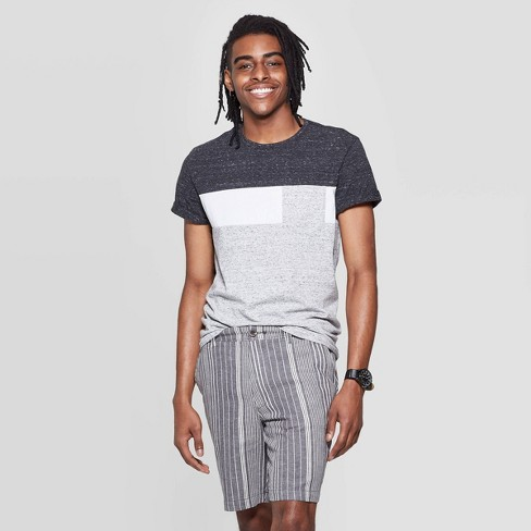 Men's Standard Fit Color Block T-Shirt - Goodfellow & Co™ - image 1 of 3