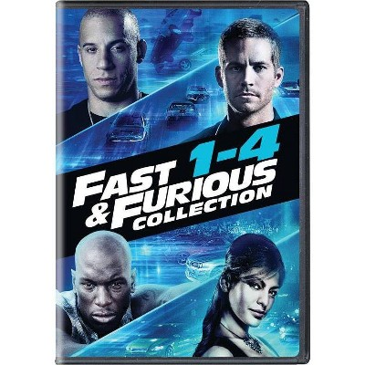 Fast & Furious 4-Movie Collection (DVD)(2020)