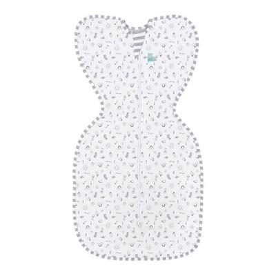 Love To Dream Swaddle Wrap UP Original - Designer High Five White S