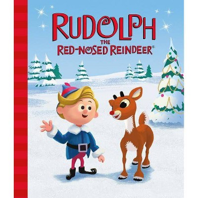 Rudolph the Red-Nosed Reindeer - by  Thea Feldman (Board Book)