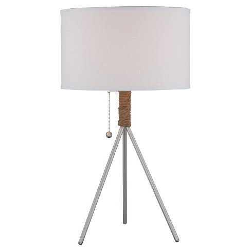 Trixie Table Lamp Silver (Includes Energy Efficient Light Bulb) - Lite Source - image 1 of 2