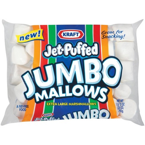Kraft Jet-Puffed Jumbo Mallows Extra Large Marshmallows - 28oz - image 1 of 2