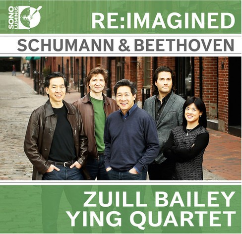 Ying quartet - Schumann & beethoven for cello quinte (CD) - image 1 of 1