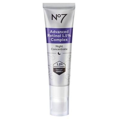 No7 Advanced Retinol 1.5% Complex Night Concentrate - 1 fl oz