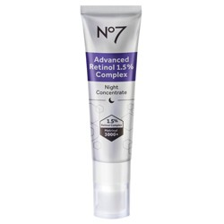 No7 Advanced Retinol 1.5% Complex Night Concentrate - 1 fl oz