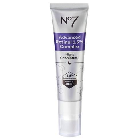 No7 Advanced Retinol 1.5% Complex Night Concentrate - 1 fl oz - image 1 of 4