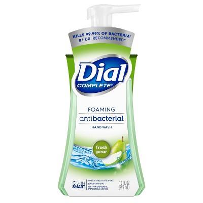 Dial Fresh Pear Foaming Antibacterial Hand Wash - 10oz