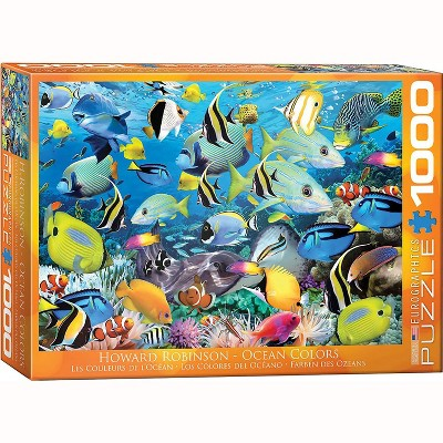 Eurographics Inc. Ocean Colors by Howard Robinson 1000 Piece Jigsaw Puzzle