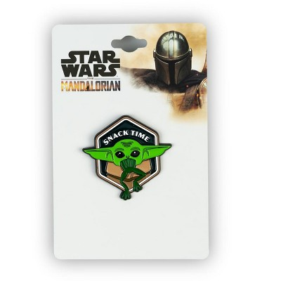 SalesOne LLC Star Wars: The Mandalorian The Child Collector Pin | Baby Yoda At Snack Time
