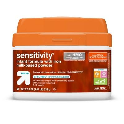 Sensitivity HMO Infant Formula with Iron Powder - 22.5oz - up & up™