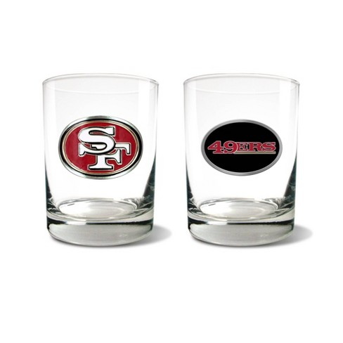 NFL San Francisco 49ers Rocks Glass Set - 2pc - image 1 of 1