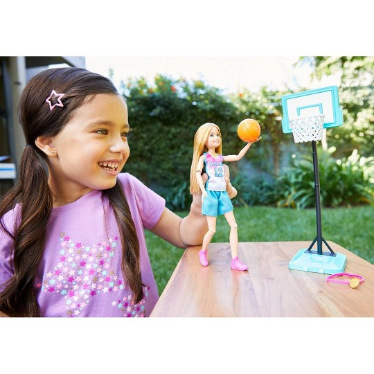 Barbie Team Stacie Basketball Doll image number null