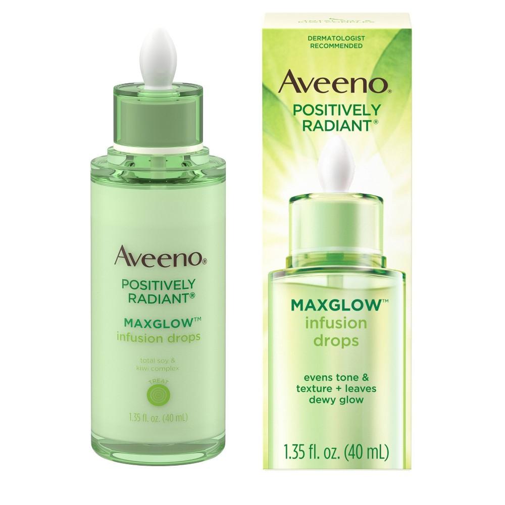 Image of Aveeno Positively Radiant MaxGlow Infusion Drops Serum - 1.35 fl oz