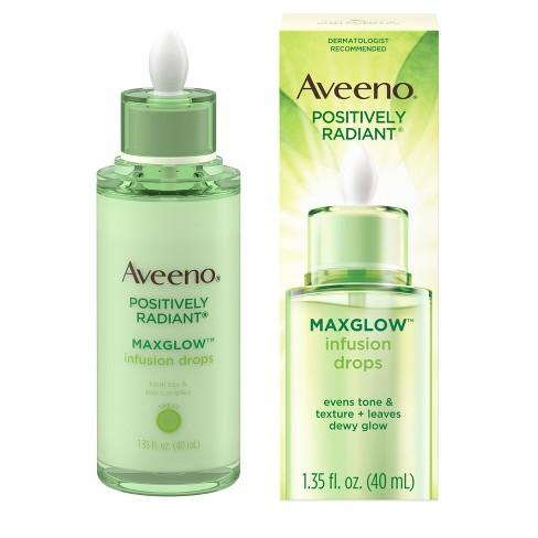 Aveeno Positively Radiant MaxGlow Infusion Drops Serum - 1.35 fl oz - image 1 of 4