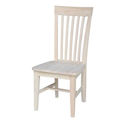 Set of 2 Tall Mission Chairs - International Concepts