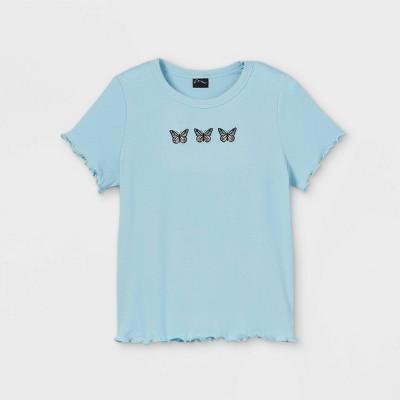 Girls' Embroidered T-Shirt - art class™