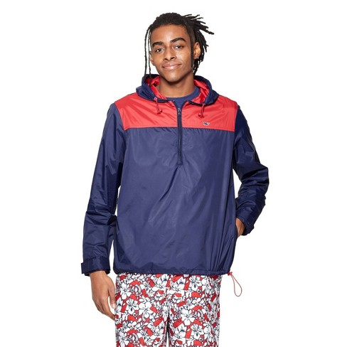 8c1680dcb7 Men's Light Weight Color Blocked Jacket - Navy/Red - vineyard vines® for  Target