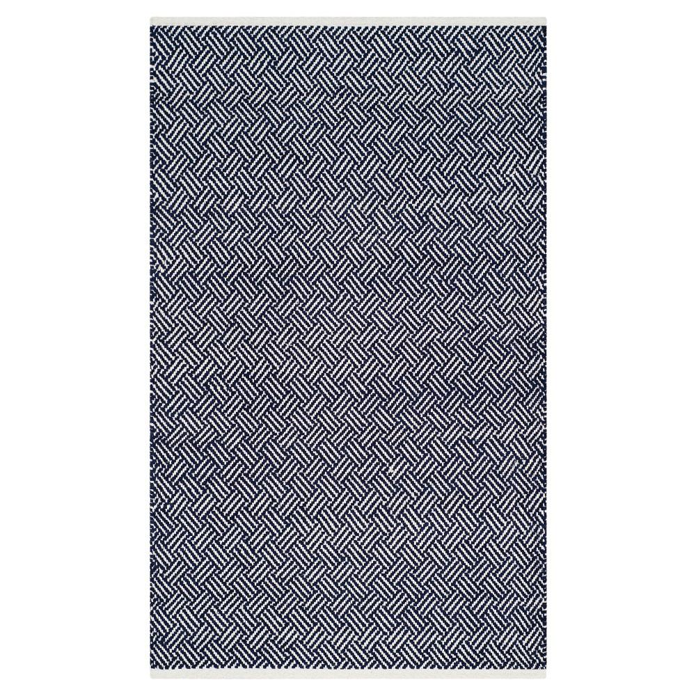 Best Price Kala Accent Rug Navy Blue 3x5 Safavieh