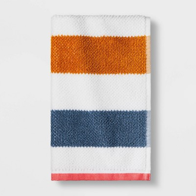 Striped Hand Towel with SILVADUR™ Antimicrobial Technology - Pillowfort™
