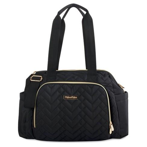 Fisher-Price Quilted Harper Frame Bag - Black - image 1 of 4