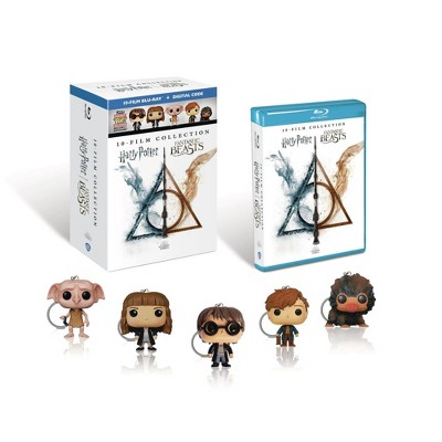 Wizarding World 10-Film Collection (Target Exclusive)(Blu-ray + Digital)