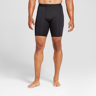 New Men/'s Black Champion C9 DuoDry Power Core Compression Shorts Size S