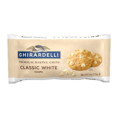 Ghirardelli White Premium Baking Chips 11oz