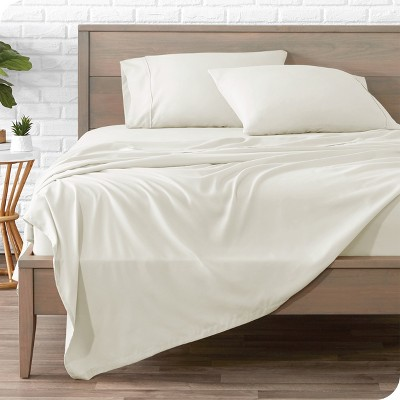 Hydro-Brushed Solid Microfiber Sheet Set by Bare Home