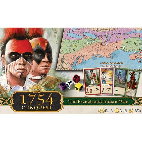 Birth of America - 1754 Conquest, The French and Indian War Board Game - image 1 of 1