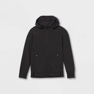Boys' Ponte Full Zip Hooded Sweatshirt - All in Motion™