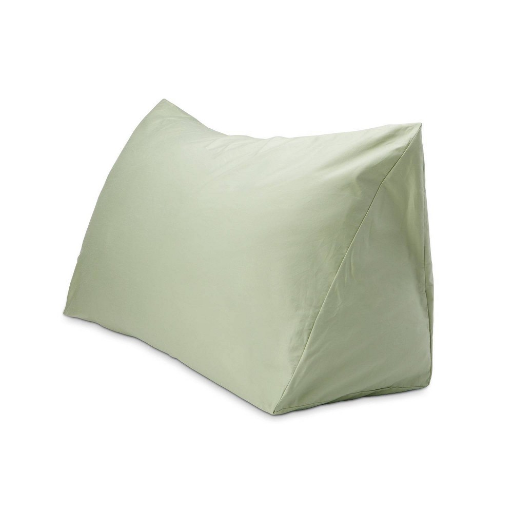 "Image of ""18"""" x 36"""" 330 Thread Count Reading Wedge Cover Vintage Green - DownLite"""