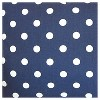 """Blue Polka Dots Throw Pillow (18""""x18"""") - The Pillow Collection - image 2 of 2"""