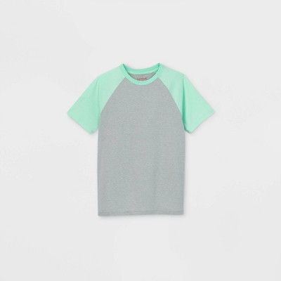 Boys' Short Sleeve Baseball Favorite T-Shirt - Cat & Jack™ Green