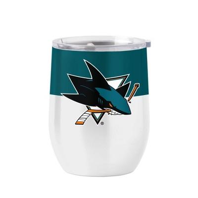 NHL San Jose Sharks 16oz Retro Wine Tumbler
