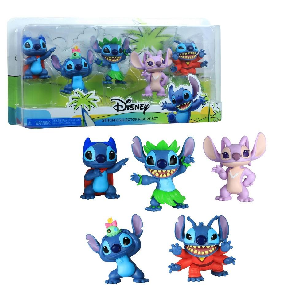 Disney Lilo And Stitch Collector Figure Set 5pk
