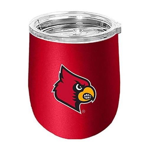 NCAA Louisville Cardinals 14oz Matte Stainless Steel Wine Tumbler - image 1 of 1