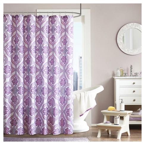 Dakota Geometric Shower Curtain